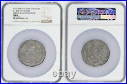 1672, Dutch Republic. Silver Siege of Groningen & Coevorden Medal. NGC MS-64