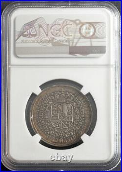 1705, Spanish Netherlands, Philip V. Silver Capture of Huy Medal. NGC AU-50