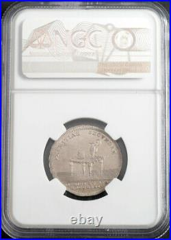 1774, Hungary, Raab (Györ), Bishop Franz von Zichy. Silver Medal. NGC MS-63