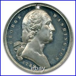 1897 Washington Monument Medal MS-62 NGC PL (White Metal) SKU#229261