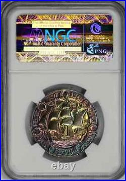 1907 Liverpool England 700 Yr Ngc Ms66 Great Britain Toned Finest Known Uk