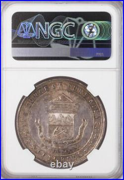 1933 Century of Progress Colorado Medal Silver, HK-870, MS65 NGC Token