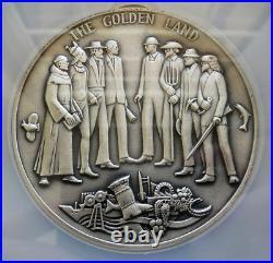 1969 Silver California Bicentennial Commemorative Medallic Art Ngc Mint State 68