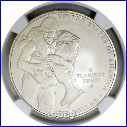 2011 S $1 Medal Of Honor Commemorative Silver Dollar NGC MS70
