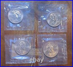 2014 First Spouse Medal Series Four Medal Set