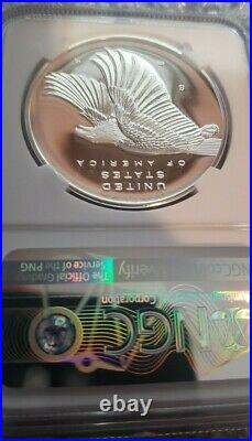 2017 S Proof 225th Ann. American Liberty Silver Medal 1 oz NGC PF 70 ER Early Re