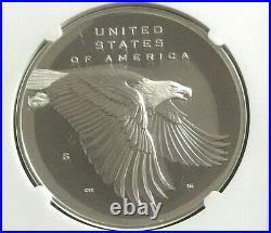 2017-S Proof 225th Ann. American Liberty Silver Medal 1oz PF70 UCAM MINT LABEL
