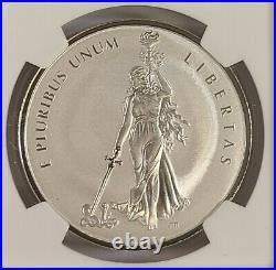 2019 1 oz Canada Peace & Liberty Silver Medal UHR NGC PF70 REV PF FDOI Taylor