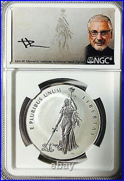 2019 Canada PEACE MEDAL Silver 1 Oz. NGC PF70 Rev. Pf. FIRST DAY OF PRODUCTION