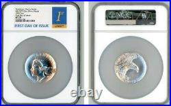 2019 P AMERICAN LIBERTY SILVER MEDAL 2.5oz. 999 NGC SP70 FIRST DAY OF ISSUE 1ST