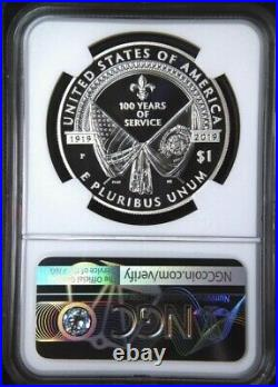 2019 P American Legion Silver Dollar Coin NGC PF70 UC ER from coin & Medal SET