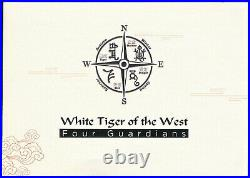 2020 China The White Tiger Of The West 2 Medal Set Gold+Silver NGC PF 70 withCOA's