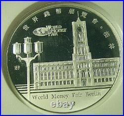2020 China World Fair Of Money Berlin Commemorative Panda Ngc Pf70 Fdi