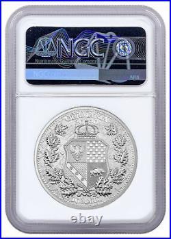 2020 Germany Allegories Germania & Italia 2 oz Silver Medal NGC MS70 FR