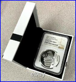 2020 Korea Taekwondo 1 Clay Proof 1 oz Silver Mint Medal NGC PF 69 UCAM