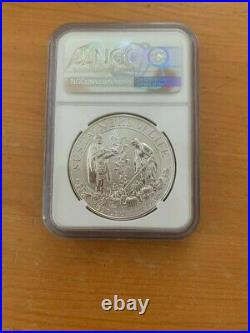 2020 P Mayflower 400th Anniversary NGC PF70 Silver Reverse Proof Medal
