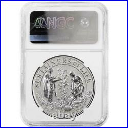 2020-P Reverse Proof Mayflower Silver Medal 400th Anniversary NGC PF70UC FDI May
