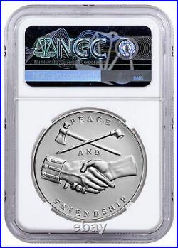 (2020) Presidential Medal Jackson 1 oz Silver Matte NGC MS70 SKU60651