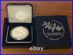 2020 W End Of World War II V75 Silver American Eagle Ngc Pf70 Uc And V75 Medal