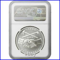 (2021) Martin Van Buren Silver Presidential Medal MS69 Early Releases NGC Blue L