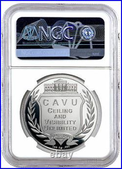 George and Barbara Bush Commem 1 oz Silver Medal 41st U. S. President NGC PF70 UC