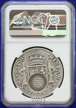 Mexico 2019 8 Reales. 999 Silver Medal, Minas Gerais Counterstamp NGC MS70