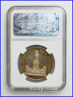 NGC PF63 1897 Germany Prussia Wilhelm I Centennial Silver Medal K10045