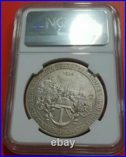 Nurnberg NGC 1926 MS 63 Unc City View Medal Silvered Army and Marine