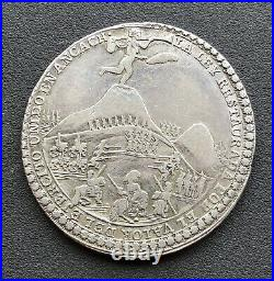 PERU Cuzco-Ancachs, 1839 4R Silver Medal, Battle Of Yungay At Gamarra, NGC Cert