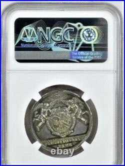 RAFFLER NURNBERG CITY Silver Medal n. D. City view NGC MS 62