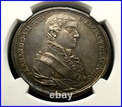 ¡¡ Scarce! Silver Medal Proclamation Ferdinand Vii. 1808. Veracruz (mexico)