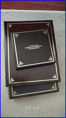 The Medallic History of Mankind, Complete Set of 100 Gold Plated Silver Coins